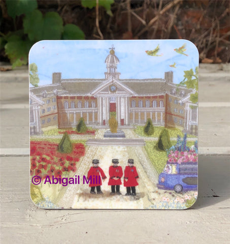 Royal Chelsea Hospital Coaster