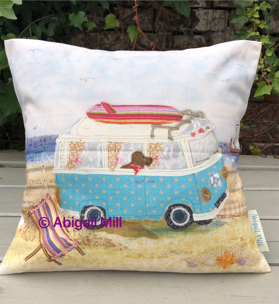 Surf Campervan - Cushion