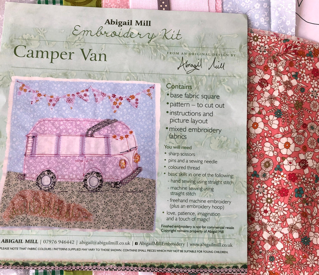 Campervan Kit- Pink Floral