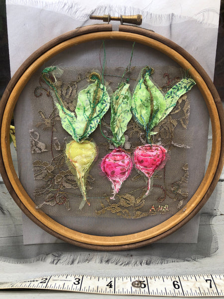 Baroque small Radish embroidery hoop