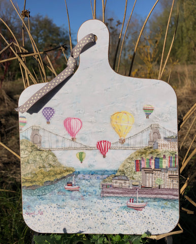 Bristol Balloons - Little Chopping Board