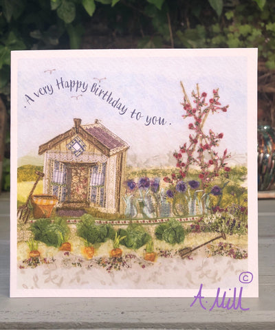 Birthday Potting Shed Greetings card