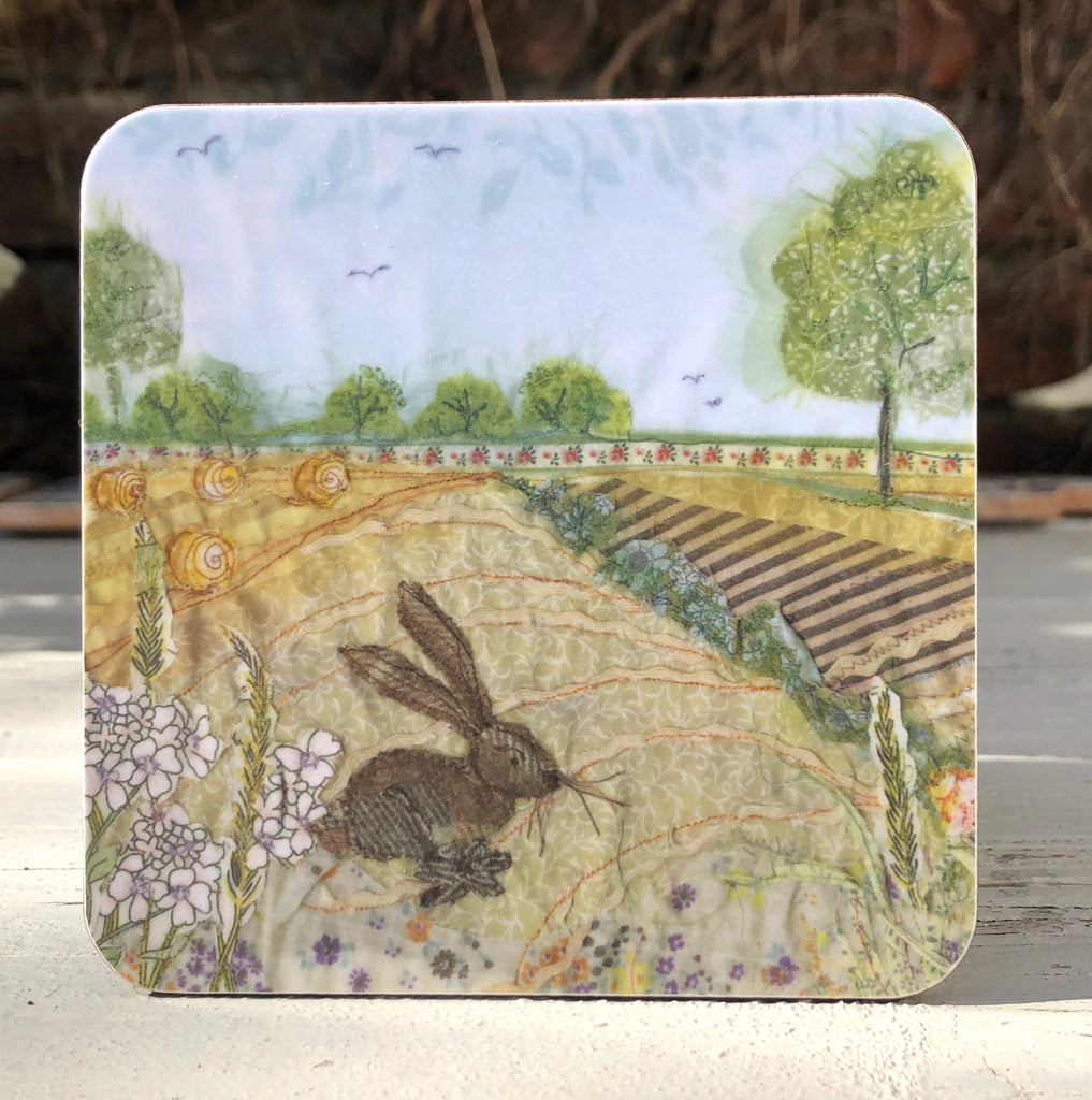 Harvest Hare Coaster