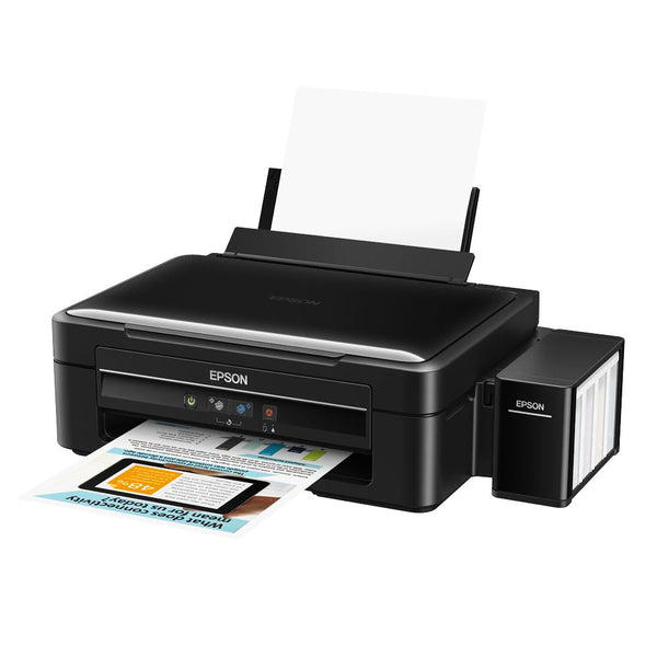 Epson L360 Ink Tank System Color 3-in-1 Printer (Manual Duplex, One Touch Scan & Copy)