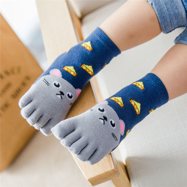 Chaussettes Cheesy Mouse - Unisex - Popotin