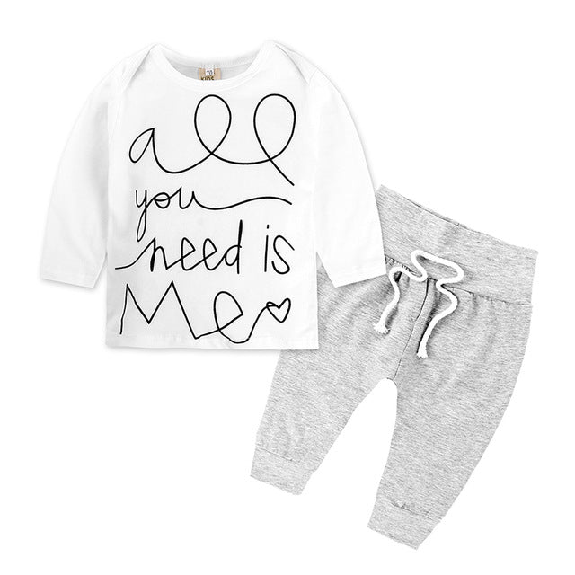 Ensemble All You Need Pantalon + T-Shirt - Fille - été 2018 - Popotin