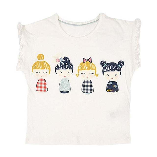 T-Shirt 4 Girls - Fille - été 2018 - Popotin