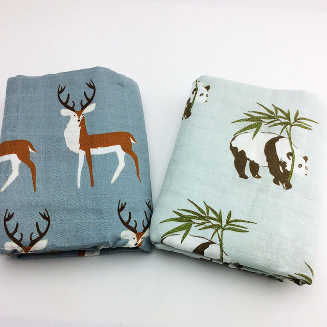 Langes Panda/Deer - Lot de 2 - Unisex - Popotin