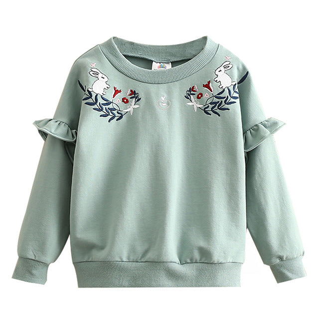 Sweat Cute Rabbits - Fille - Automne 2018