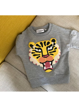 Sweat Tiger - Fille - Automne 2018 - Popotin