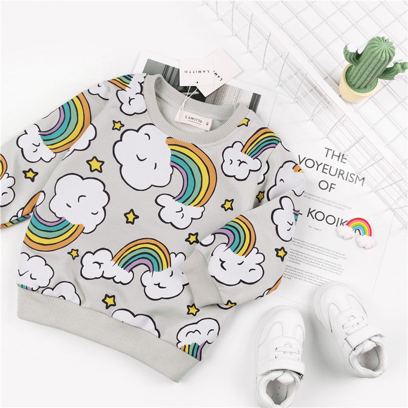 Sweat Cloudy Rainbow - Unisex - Automne 2018