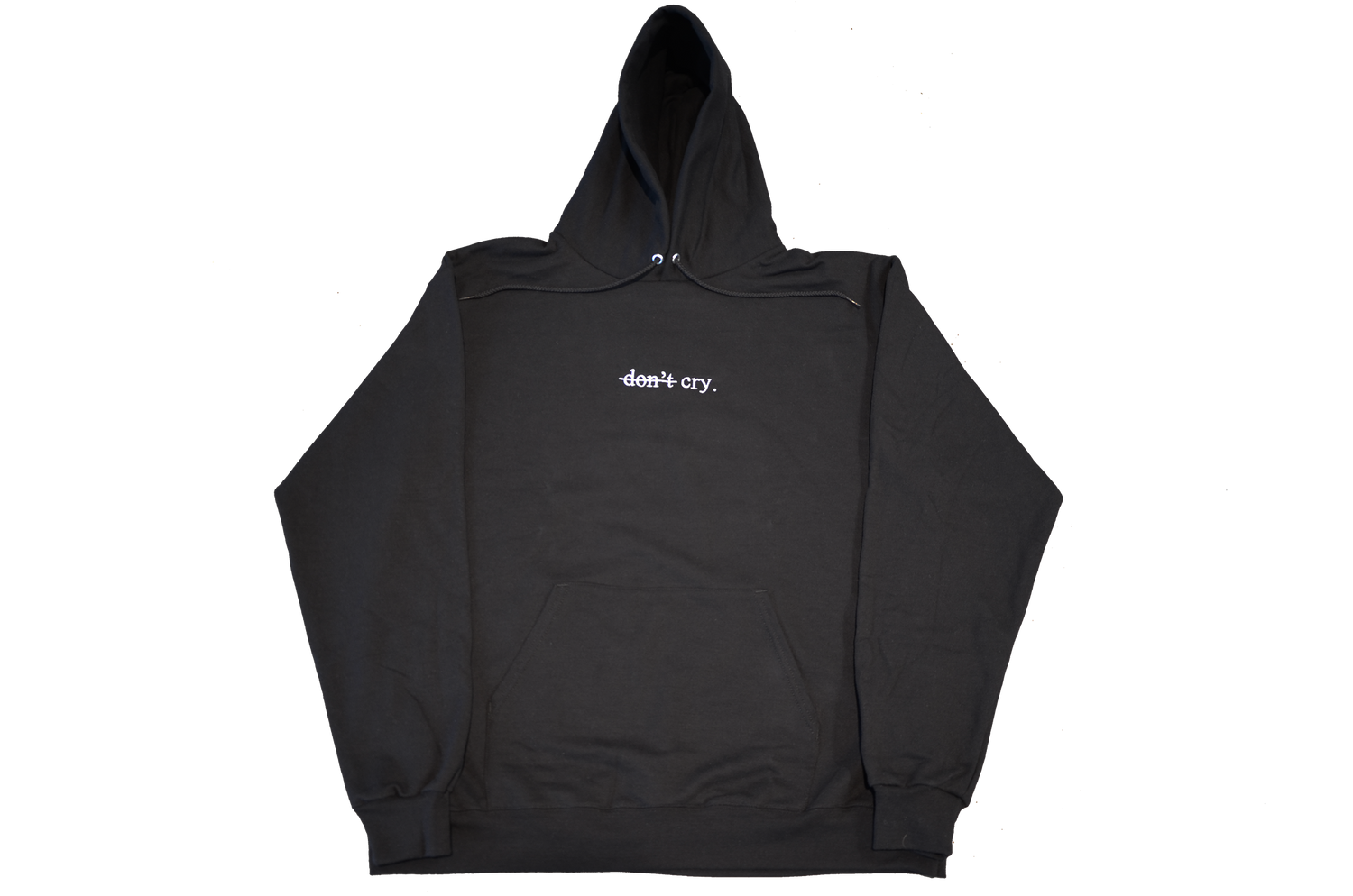 """DON'T CRY"" CHAMPION HOODIE"
