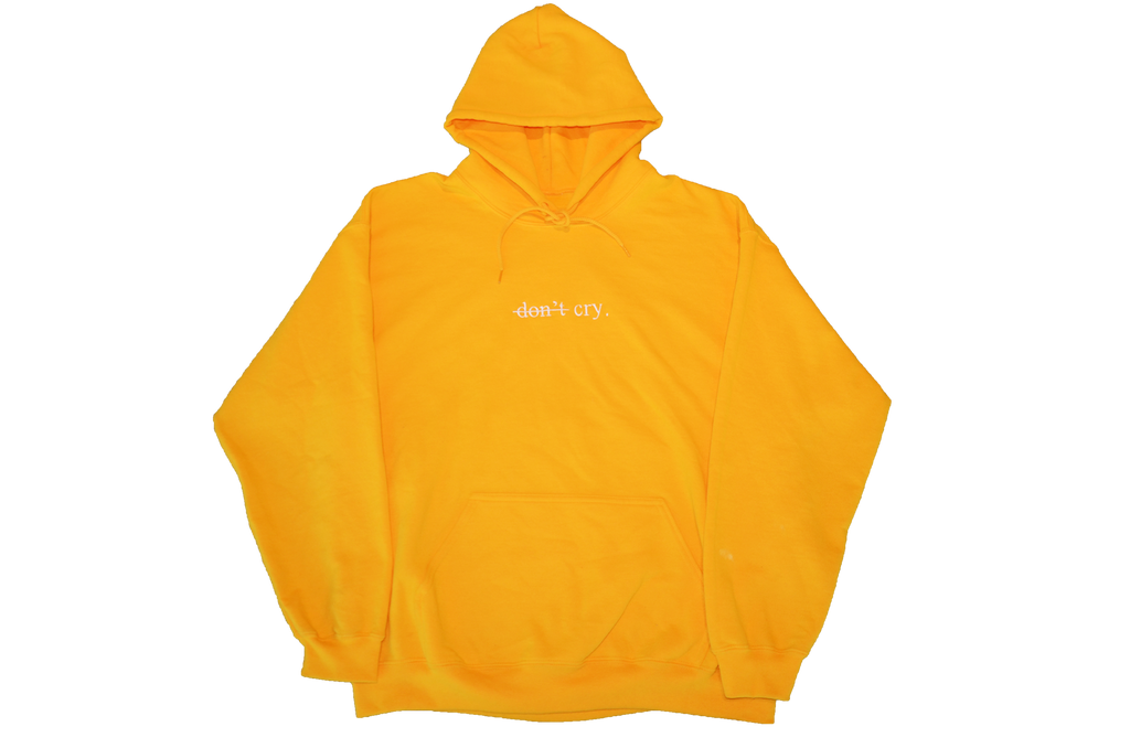 """DON'T CRY"" ONE YEAR ANNIVERSARY HOODIE"