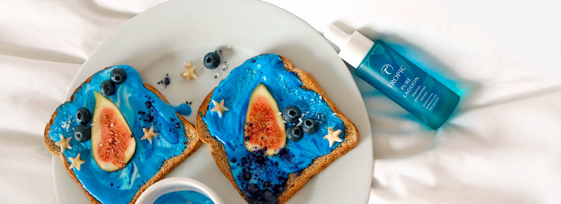 Blue Mermaid Toast Recipe