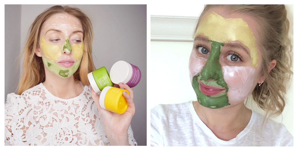 mask mapping with beauty bloggers sarahloolaa and jess beautician