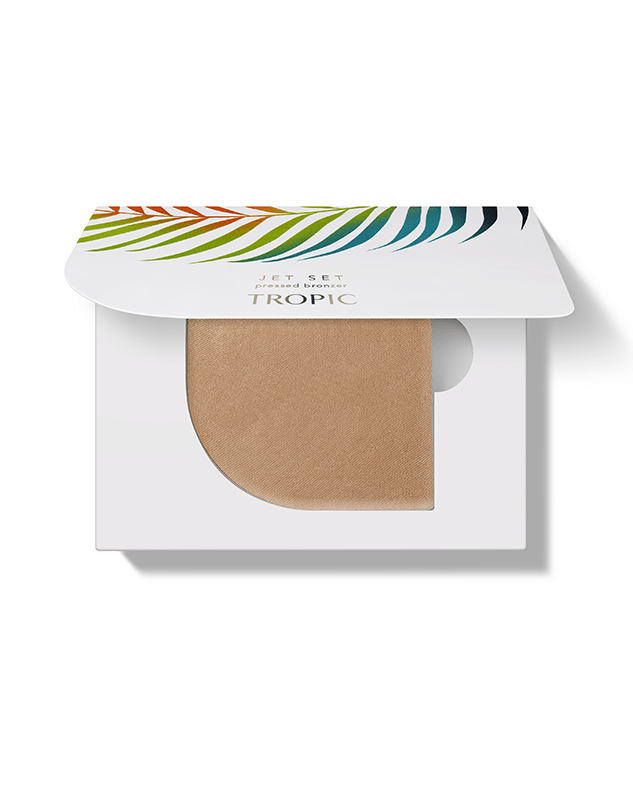 JET SET pressed bronzer