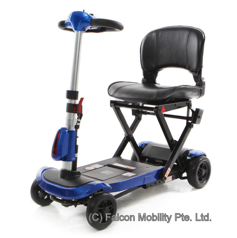 Solax Genie Automatic Folding Mobility Scooter - Scootology - Malaysia's Best Electric Scooter