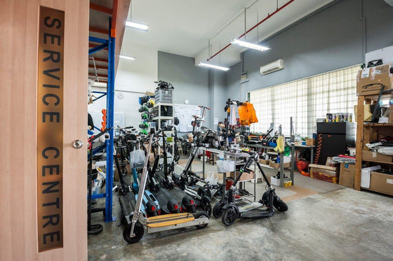 Electric Scooter Repair - Scootology - Malaysia's Best Electric Scooter