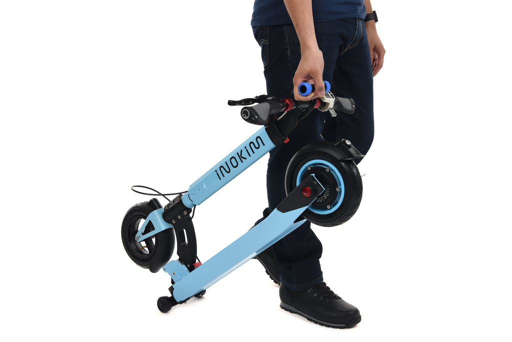 Inokim Light Front Trolley Wheels - Scootology - Malaysia's Best Electric Scooter