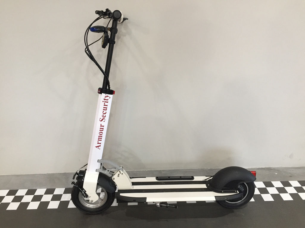 Protective Laminate and Corporate Decal - Scootology - Malaysia's Best Electric Scooter