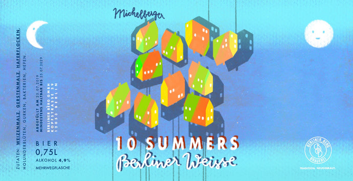 Berliner Berg X Michelberger - 10 Summers (6*0,75L)