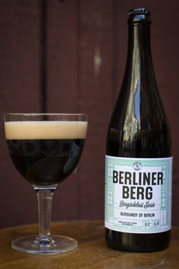 NEU!!! Bergschloss Serie: Burgundy of Berlin, Barrel Aged West-Flemish Sour Brown Ale (1*0,75l)