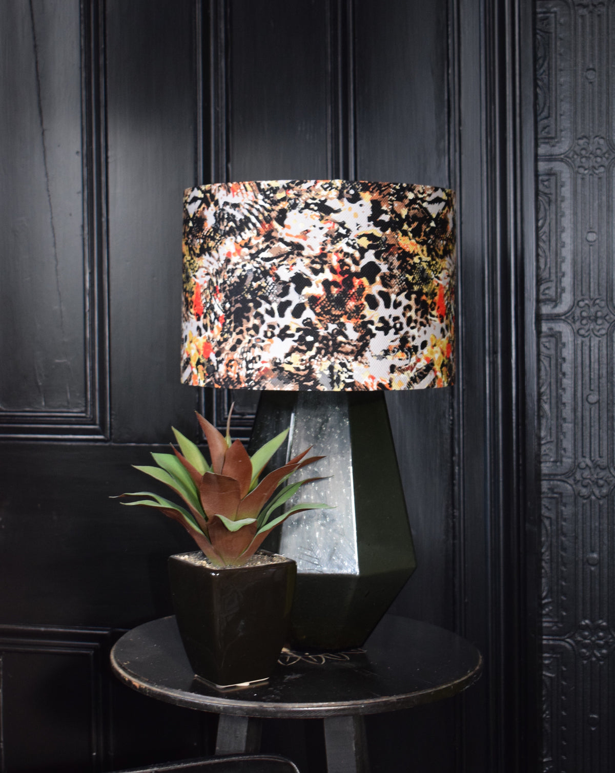 Animal, Recycled Fabric Lampshade