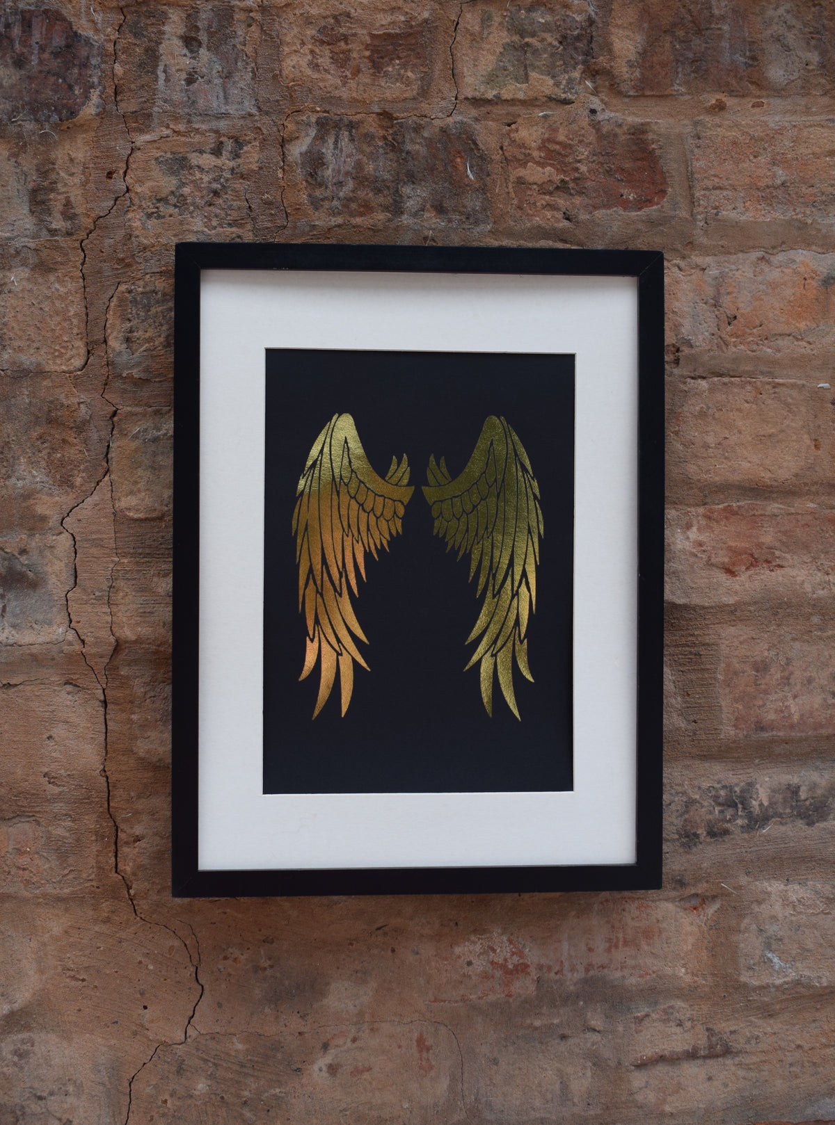 Angel Wings - Foil print