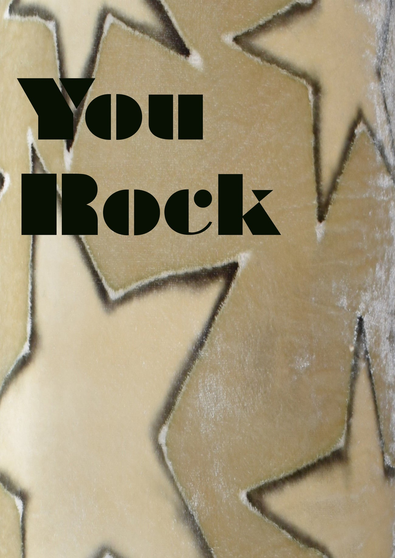 You Rock Limited Edition Art Print