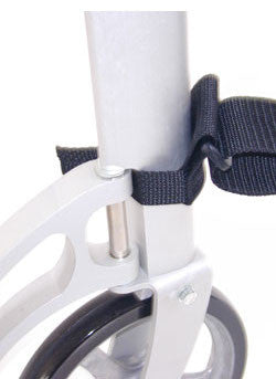 Attach carry strap to the lower handle structure