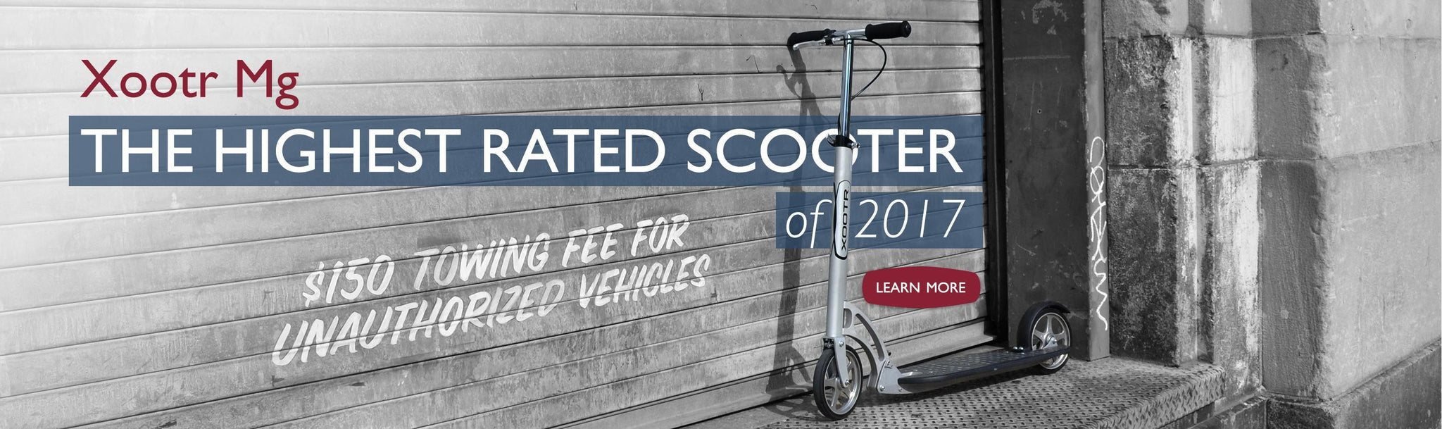 Xootr Mg - Highest rated scooter 2017