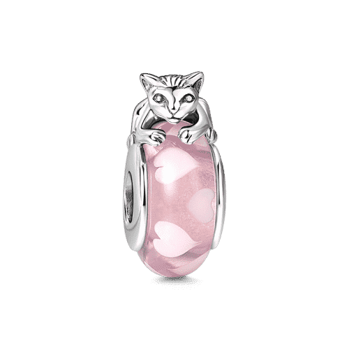 Cat Glass Bead