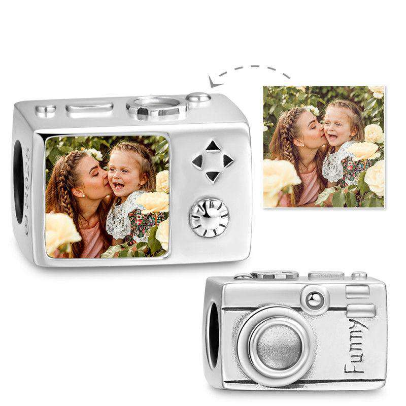 Pandora Compatible 925 sterling silver Camera Photo Charm From CharmSA Image 1
