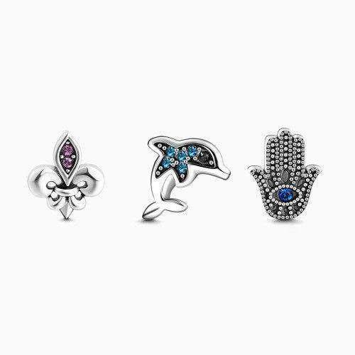 Dolphin Petite Locket Charms Set From CharmSA Image 1