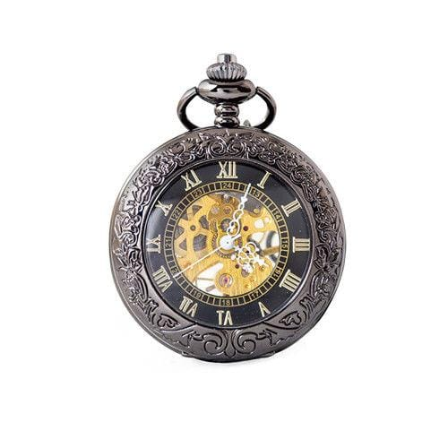 Pocket Watch Pendant Watch Hollow Mirror