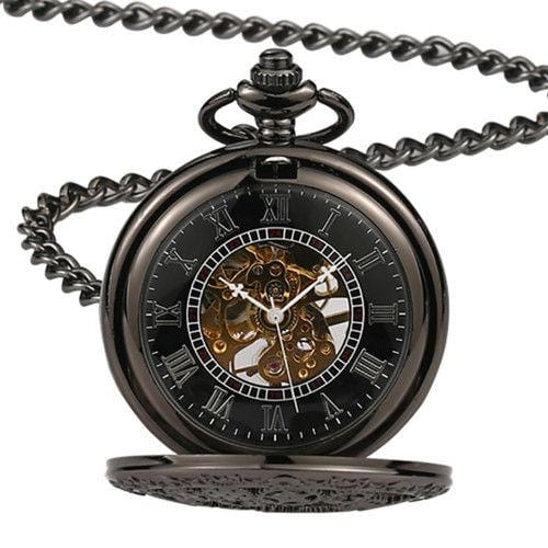 Pocket Watch Pendant Watch Gear Hollow