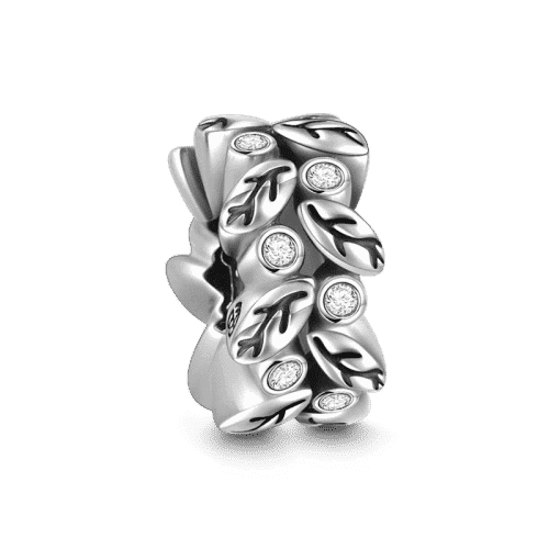 Pandora Compatible 925 sterling silver Vines Stopper Silver From CharmSA Image 1