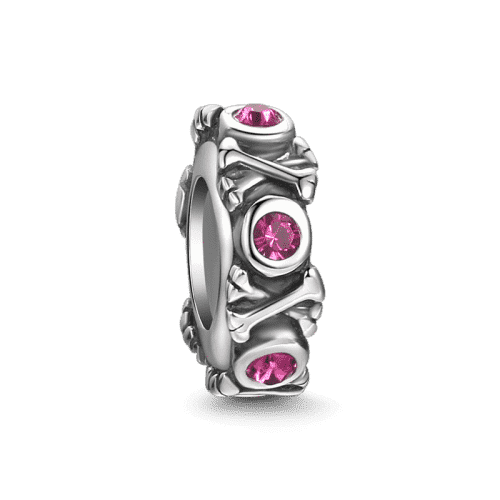 Pandora Compatible 925 sterling silver Cute Bones Stopper From CharmSA Image 1