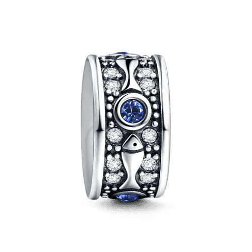 Pandora Compatible 925 sterling silver Little Fish Stopper Silver From CharmSA Image 1