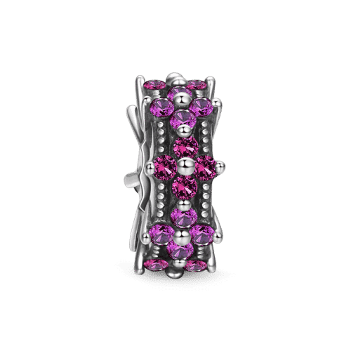 Pandora Compatible 925 sterling silver Gorgeous Flowers Stopper From CharmSA Image 1