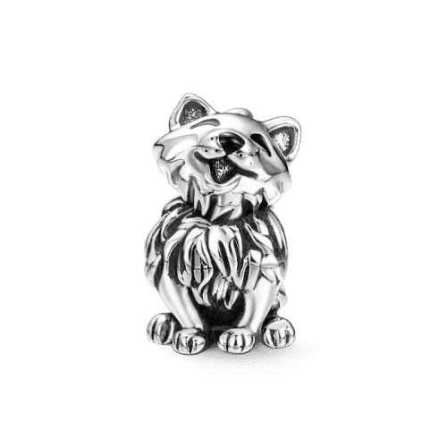 Pandora Compatible 925 sterling silver Naughty Cat Charm Silver From CharmSA Image 1