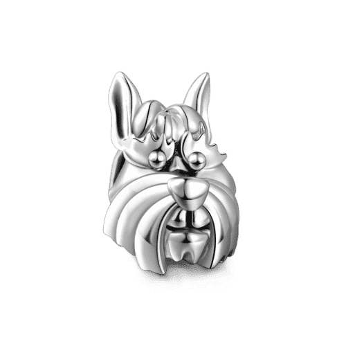 Pandora Compatible 925 sterling silver Schnauzer Charm Silver From CharmSA Image 1
