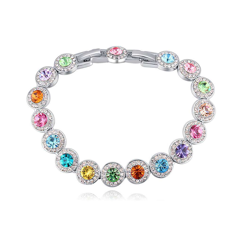 Colorful Bracelet Swarovski Crystal
