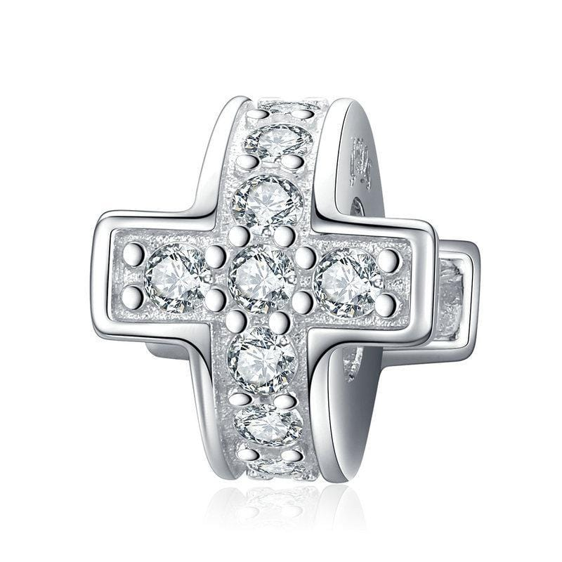 Cross Stopper Charm
