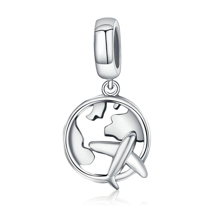 Travel the world Dangle Charm