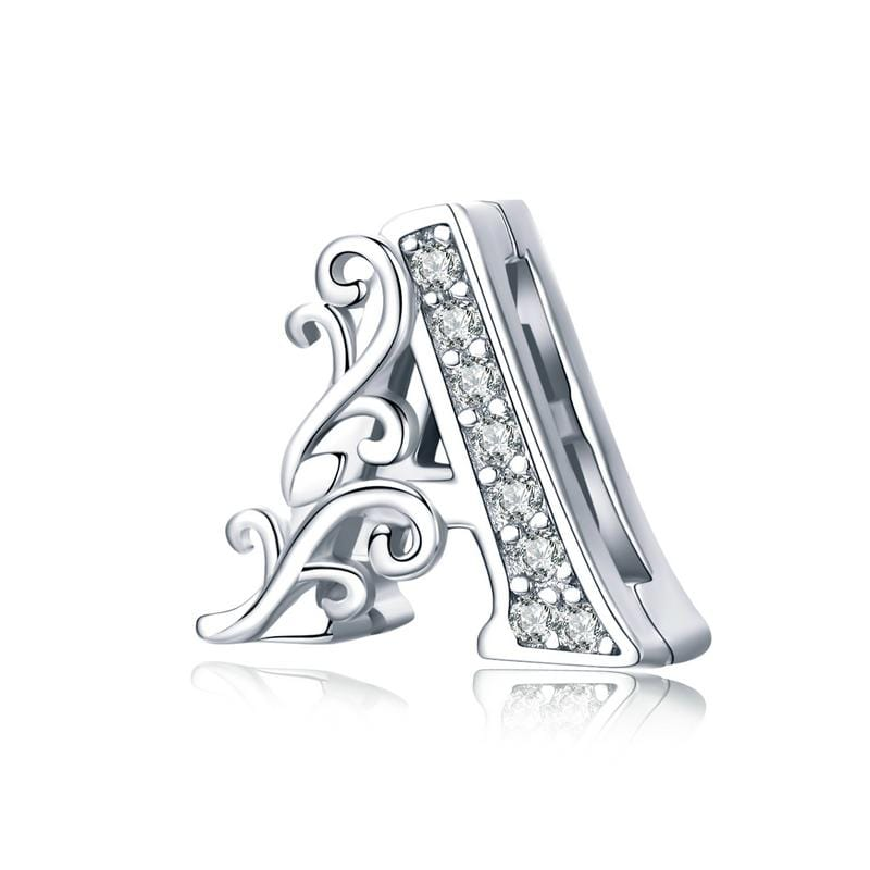Reflexion Flat Letter A Charm