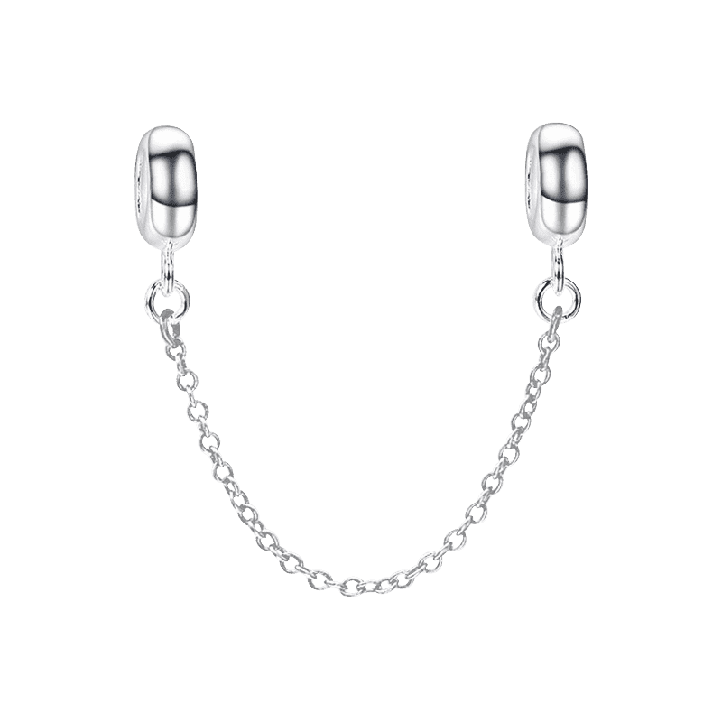 Pandora Compatible 925 sterling silver Safety Chain From CharmSA Image 1