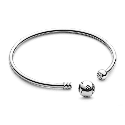 Feel the Love Bangle Silver From CharmSA Image 1