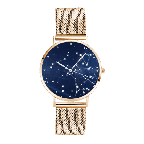 Unisex Starry Sky Dial Watch 40mm Rose Gold Plated From CharmSA Image 1