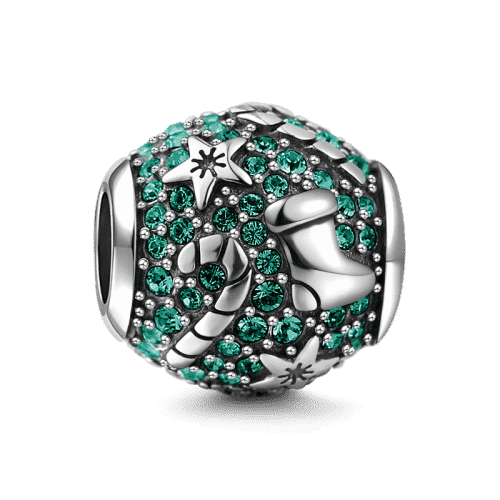Pandora Compatible 925 sterling silver Christmas Gift Charm From CharmSA Image 1